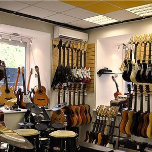 Музыкальные магазины Большого Камня